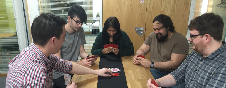 exploding kittens in the office