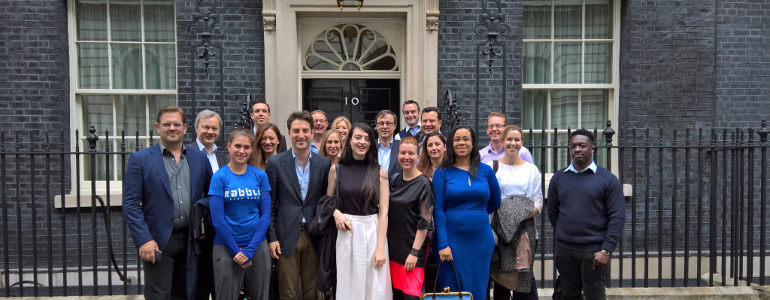 Entreprenurs head to Downing Street