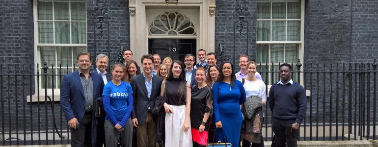 Entreprenurs head to Downing Street