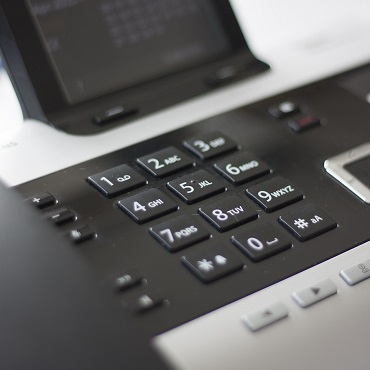 Using a business phone